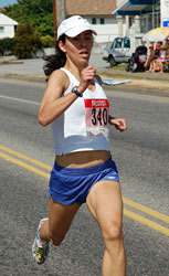 Kim Hall, 1st woman