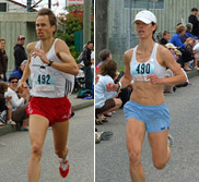 Neil Holm and Kim Hall-Boskov - photos by Ian Jacques / Coast Reporter Newspaper