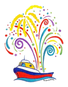 Sea Cavalcade Logo by Greta Guzek